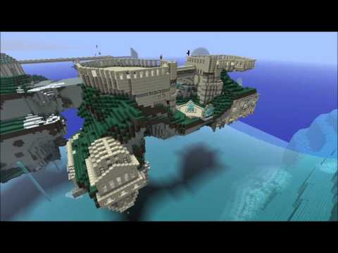 RPG Makers - Floating Island Time Lapse