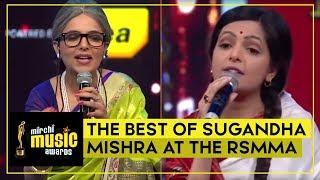 The Best Of Sugandha Mishra at the RSMMA   Sugandha Mishra   Aditya Narayan   Radio Mirchi