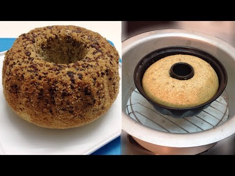 How to Make Chocolate Sponge  Cake Without Oven & Microwave | Sponge Cake Recipe in Pot