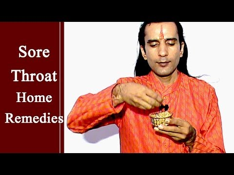Sore Throat Remedies - Ayurveda Herbs Natural Home Remedies