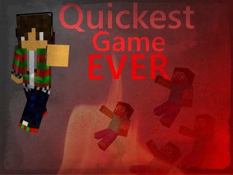 Quickest game ever - Shepcraft