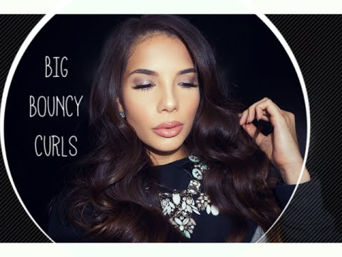 BIG BOUNCY CURLS USING A GHD | AMY MAREE COMBER