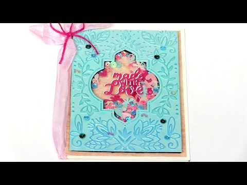 Quick and Easy Shaker Cards with Jen Long | Sizzix