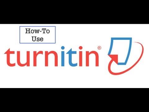 How to Use Turnitin.com