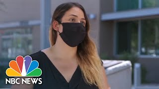 Gov. Ducey Needs To Do His Job': AZ Resident Speaks As Hospitals Pass 2,000 Deaths | NBC News NOW
