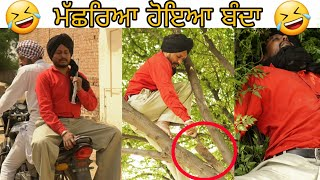 ਮੱਛਰਿਆ ਹੋਇਆ ਬੰਦਾ | New Punjabi comedy video | Latest punjabi comedy videos |