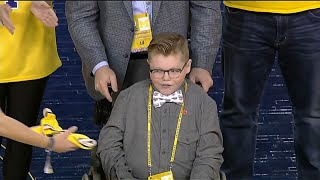 Michigan Fan Jude Stamper Honored by Wolverines