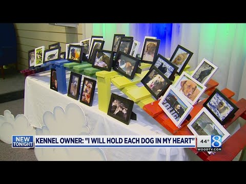 Memorial for dogs killed in fire: 'They're with friends'