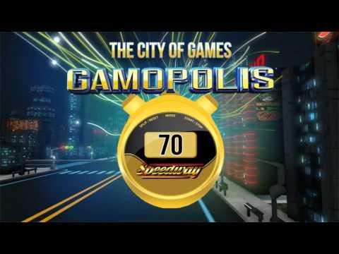 GAMOPOLIS™ SPEEDWAY - the gaming adrenaline accelerator
