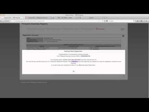 How to register your business using PBR