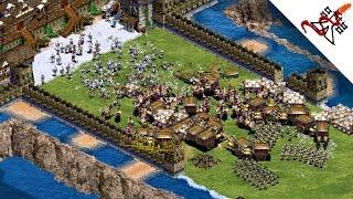 Age of Empires 2 - 4vs4 INSANE BATTLE | Multiplayer Gameplay