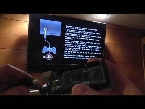 DYI Arduino Hack PS3 CONTROLLER To Bypass PS3 Set Up Screen & Fixing YLOD With Heat gun