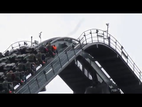 Thope Park - Swarm -  You must be insane to ride this. Awesome