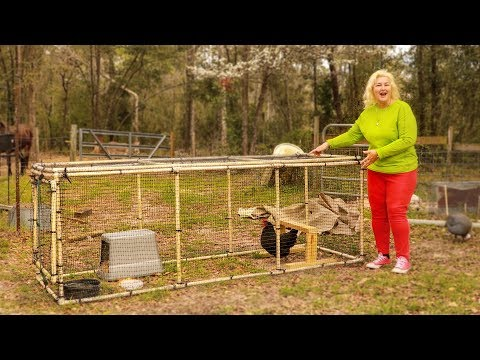 My PVC DIY Chicken Coop Design - Never Rots - Easy To Build
