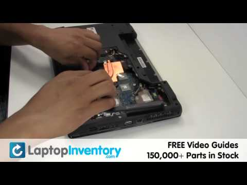 Lenovo Ideapad Z565 Touchpad Replacement Guide -  Laptop Palmrest Fix Repair Install