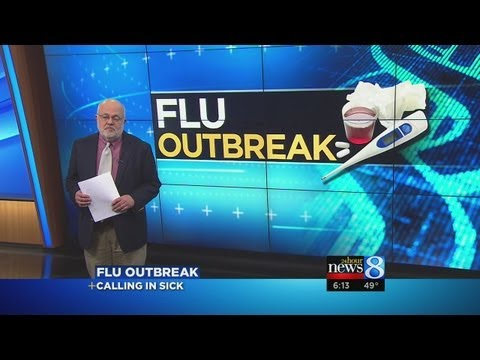 Do you work or stay home with the flu?