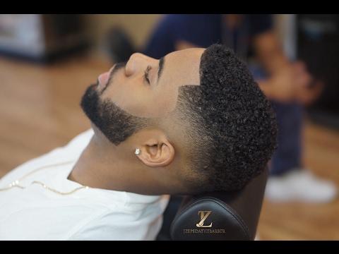 Drop fade Tutorial | Beard line up | HOW TO