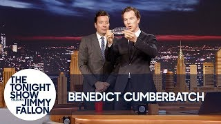 Benedict Cumberbatch Shows Jimmy a Magic Trick
