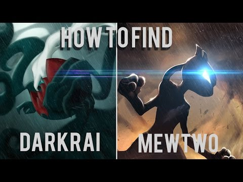 Roblox: Project Pokemon|HOW TO FIND MEWTWO AND DARKRAI!