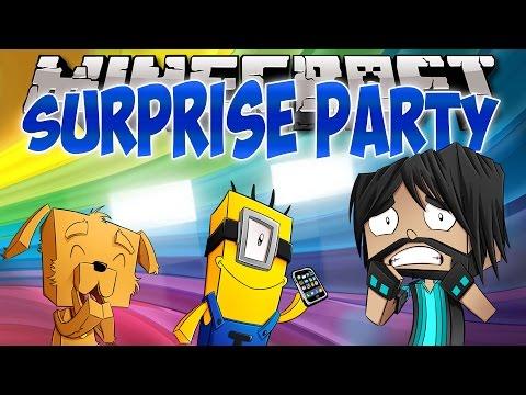 SURPRISE PARTY!! | Think's Lab Minecraft Mods [Minecraft Roleplay]