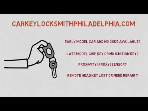 Lost Car Key Ogontz Philadelphia PA and How Chip Keys Are Made