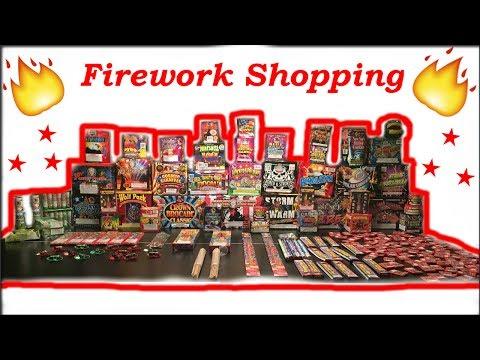 2017 Phantom Firework Shopping Trip || Tour  (Fireworks Shopping) - TheAdestroyer