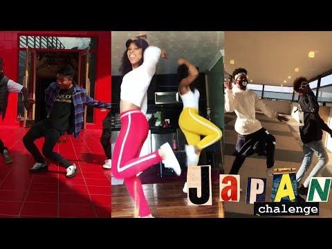BEST OF Japan Challenge Dance Compilation #japanchallenge | Famous Dex - Japan