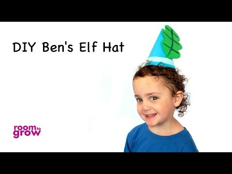 DIY Ben's Elf Hat from Ben and Holly's Little Kingdom