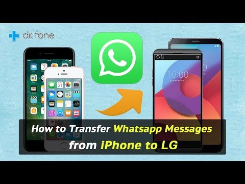 How to Transfer Whatsapp Messages from iPhone to LG