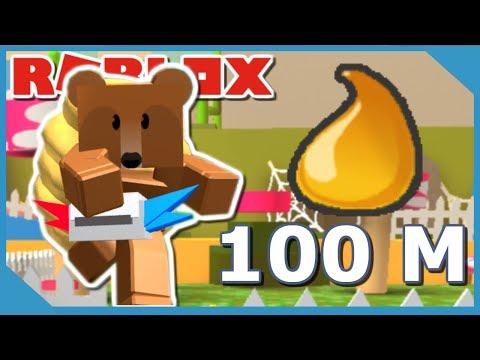 GETTING 100,000,000 HONEY IN ROBLOX BEE SWARM SIMULATOR