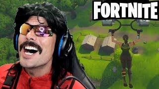 DrDisRespect plays Fortnite - New Battle Royale Game!