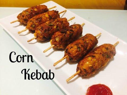 Crispy Corn Kebabs || Instant Snacks Recipe|| How To Make Corn Cutlet||Corn Tikki||Moms Tasty Food