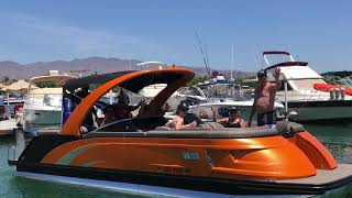 Lake Havasu City AZ Trump Boat Parade Memorial Weekend 2020