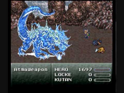 Final Fantasy VI Gau Solo Part III - Atmaweapon