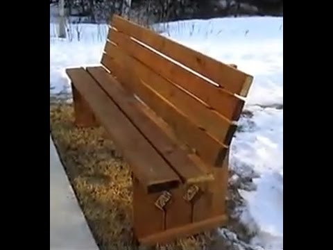 How to Build a Bench Seat • How to build a Simple Bench  • 2x4 Wooden Bench • Wood Bench