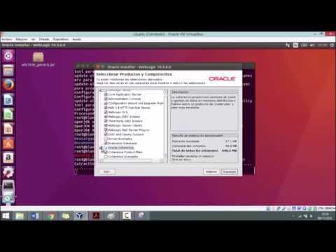 Instalación de WebLogic en Linux