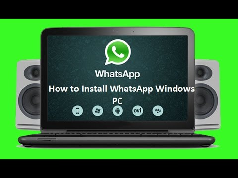 How to install Whatsapp on PC 2015