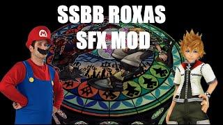 Super Smash Bros Roxas Sfx Mod