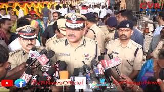 CP Anjani Kumar Inspect Ujjani Mahankali Temple To Review Arrangements l CVR NEWS
