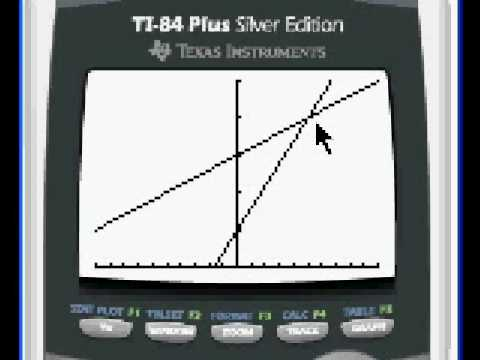 Solving systems of linear equations with the TI-83+, TI-84+