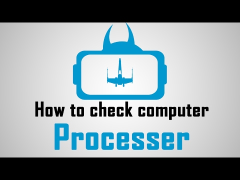 how to check computer processer