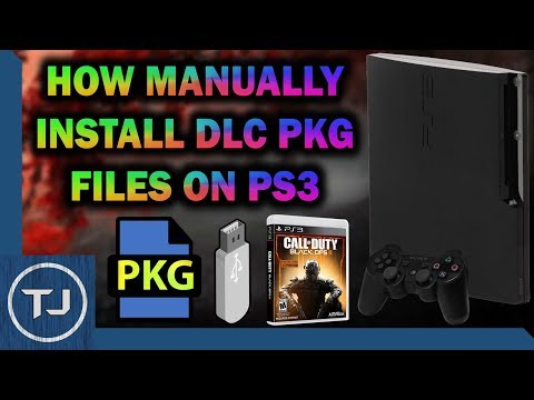 PS3 How To Manually Install DLC! *Jailbroken PS3*