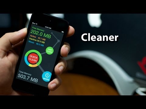 Cleaner - Free Cydia App That Allows You To Free Up Unused Processes & Memory