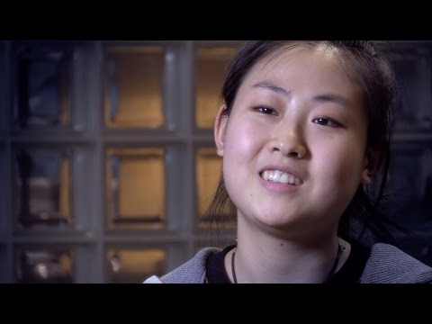 Ocean: student from China talks about learning English in Canada