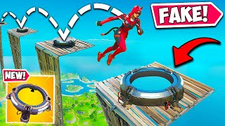 *NEW* FAKE LAUNCH PAD TRAP!! - Fortnite Funny Fails and WTF Moments! #936