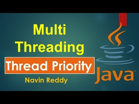 #10.5 Java Tutorial | Multithreading | Thread Priority