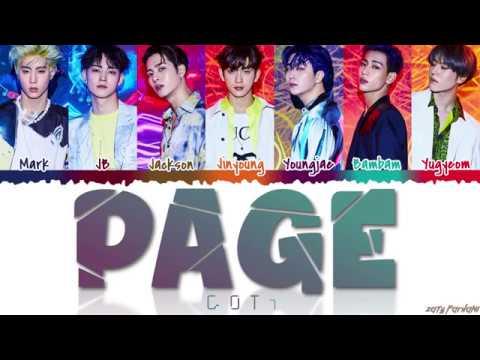 Xxx Mp4 GOT7 갓세븐 39 PAGE 39 Lyrics Color Coded Han Rom Eng 3gp Sex