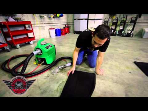 How To Hot Water Extract Carpet - Chemical Guys Detailing Car Care Durrmaid 1600
