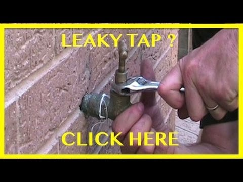 How to Change a Tap Washer. How to Fix a Dripping Tap.