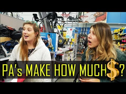Asking People in Walmart - What is a PA? & How Much Money Does a PA Make? (Physician Assistant)